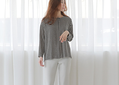 one button open 504 blouse -하이컬리티-