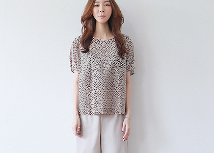 나그랑 leaf .p cool cotton blouse-하이컬리티-