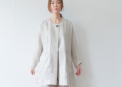 one 소매 button 4406 jacket