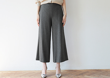 9부 와이드 105.1 pants -FABRIC BY ITALY-