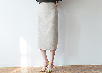 허리단 soft  basic 44 skirt