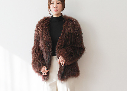 R-st racoon fur 503 outer