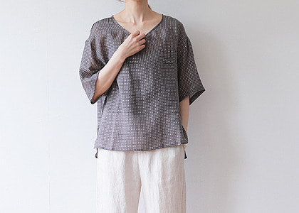 F-st Mine pocket 96 Blouse-파샤단독진행-