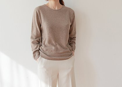 라운드 cashmere soft 1412 K.top