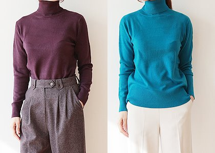 골지 color cashmere 113 TOP