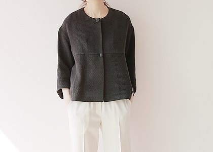 뜨게 button soft 3027 outer