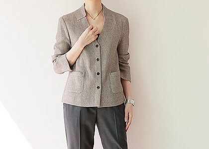 V.neck pocket 3303. outer