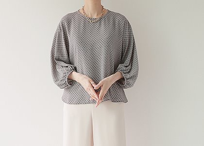 왕 퍼프 soft 5010 blouse