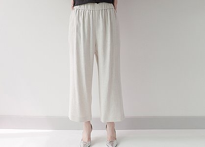 허리밴딩  D. 일자핏 114.2 pants-fabric by italy-