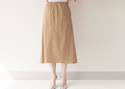 허리밴딩 pocket 116 skirt